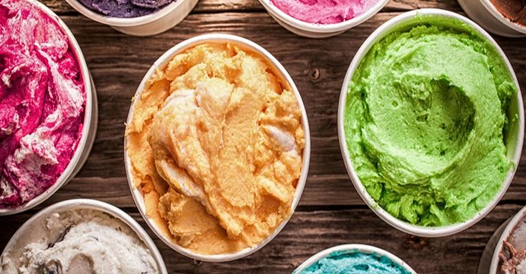 Prepare seu próprio sorvete em casa!