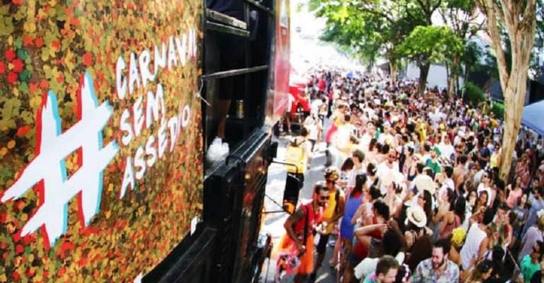 Campanha ajuda vítimas de assédio no Carnaval