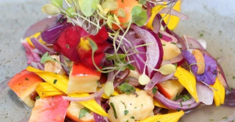 Cartilhas informam sobre consumo culinário de flores e plantas não convencionais