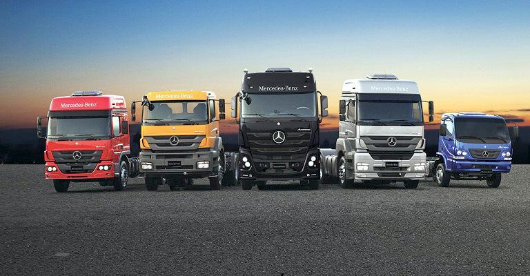 Indústria emplaca mais caminhões em fevereiro do que em janeiro