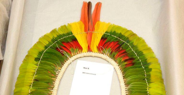 Museu Nacional recebe doações de peças indígenas de instituição da Áustria