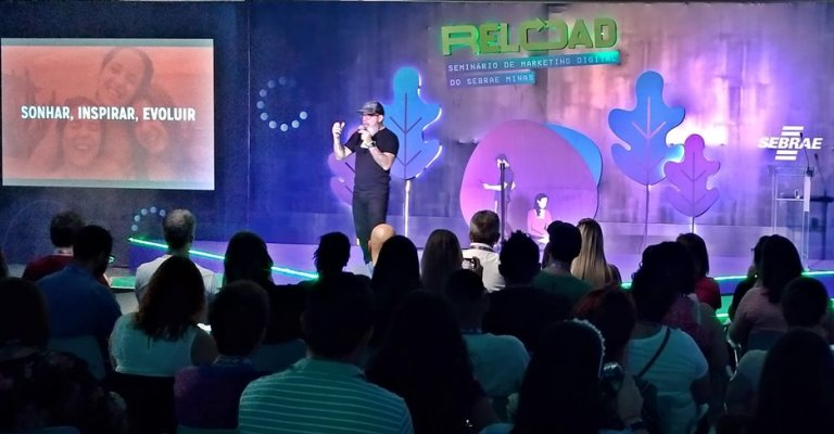 Inscrições abertas para o Reload BH, o evento de marketing digital do Sebrae