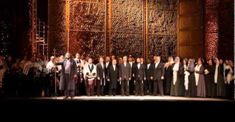 Canal do Palácio das Artes exibe ópera Nabucco