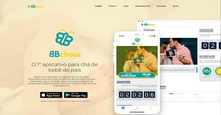Conheça o primeiro app brasileiro de chá de bebê online