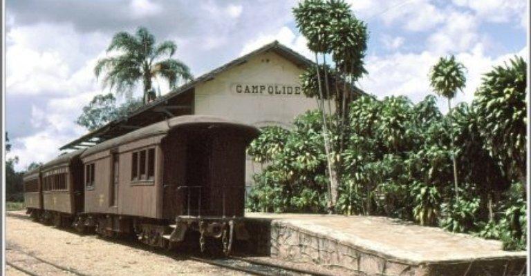Série faz uma viagem pelas antigas plataformas ferroviárias de Minas