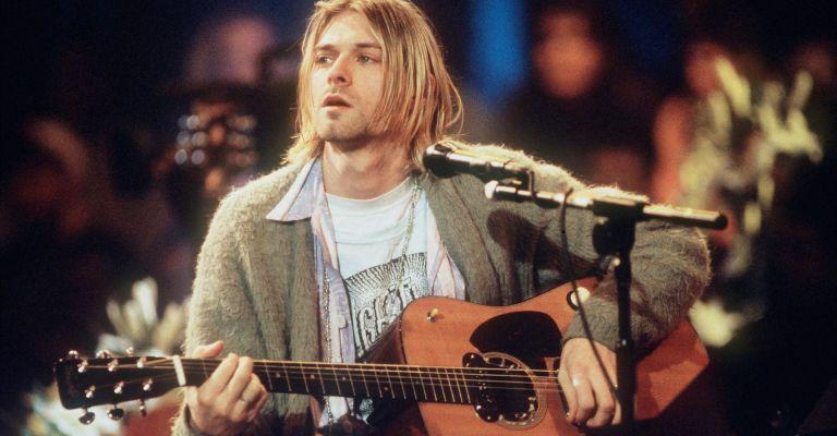 """Violão de Kurt Cobain no """"MTV Unplugged"""" será leiloado"""