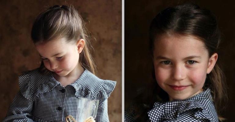 Princesa Charlotte do Reino Unido comemora cinco anos