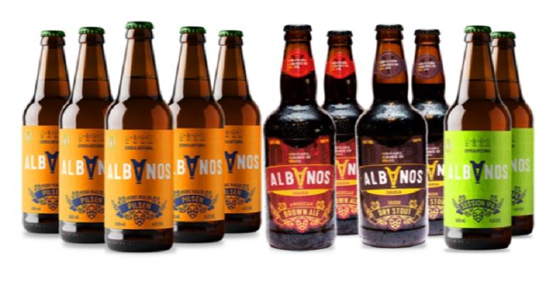 Cervejaria Albanos lança long neck de cerveja pilsen