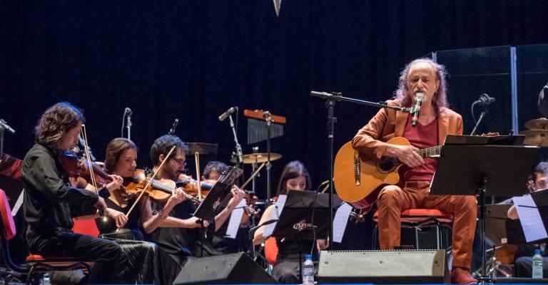 Alceu Valença relança clássico com Orquestra Ouro Preto