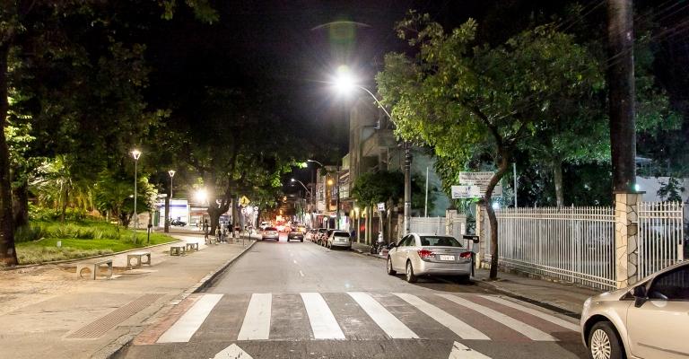 Belo Horizonte moderniza 95% de sua iluminação pública