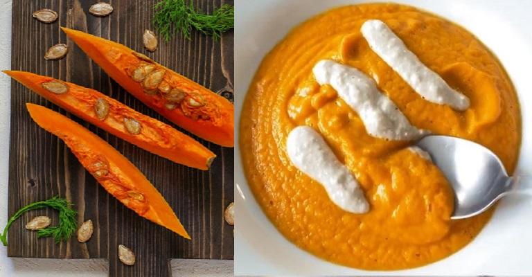 Quer uma receita diferente? Aprenda como fazer sopa de abóbora com cenouras