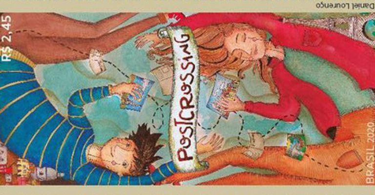 Correios lançam selo em homenagem ao Postcrossing