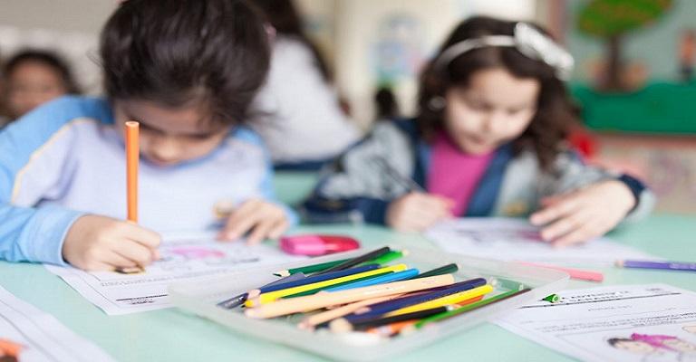 As crianças e a saudade da escola