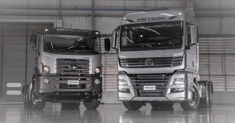 Novos VW Meteor e VW 33.460 6×4 chegam ao mercado