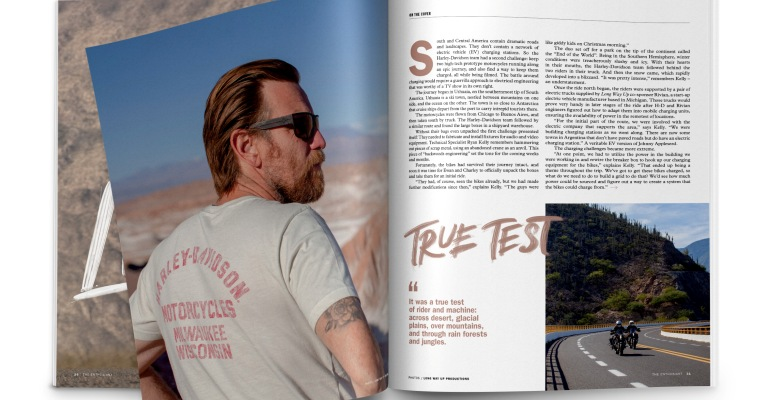 "Harley-Davidson relança a revista ""The Enthusiast"""
