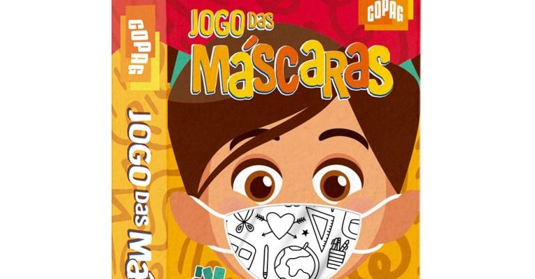 Jogo desperta nas crianças o interesse pela máscara de proteção