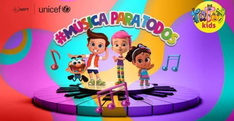 Projeto leva vídeos musicais adaptados para crianças com deficiência