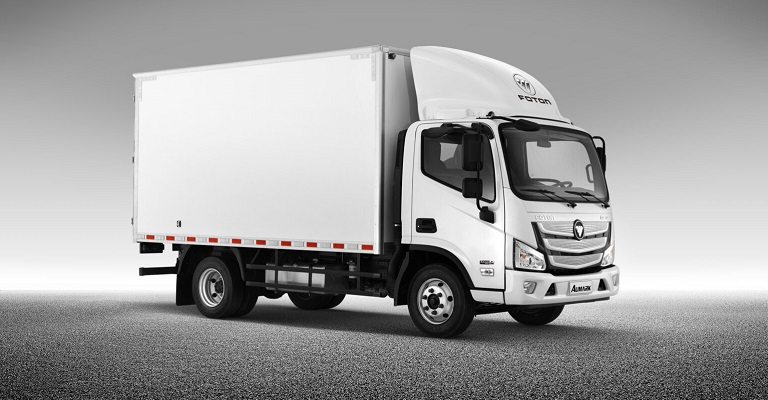 Transporte urbano de carga passa a contar com novos caminhões da Foton