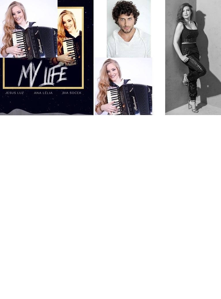 """""""My Life"""", clipe da música de Ana Lélia, Bia Socek e Jesus Luz vai ser lançado em janeiro"""