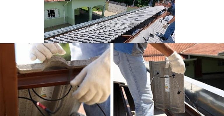 Eternit instala os primeiros projetos-pilotos com telhas fotovoltaicas de concreto