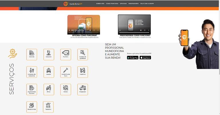 Aplicativo ajuda profissionais da reparação automotiva a conseguir trabalho