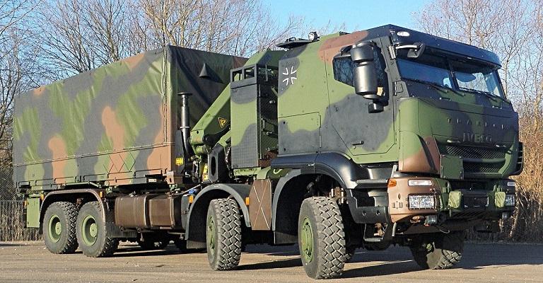 Iveco vende mais 1.048 Trakker 8×8 para Forças Armadas da Alemanha