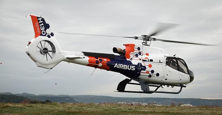 Airbus apresenta o helicóptero Flightlab para testar tecnologias do futuro