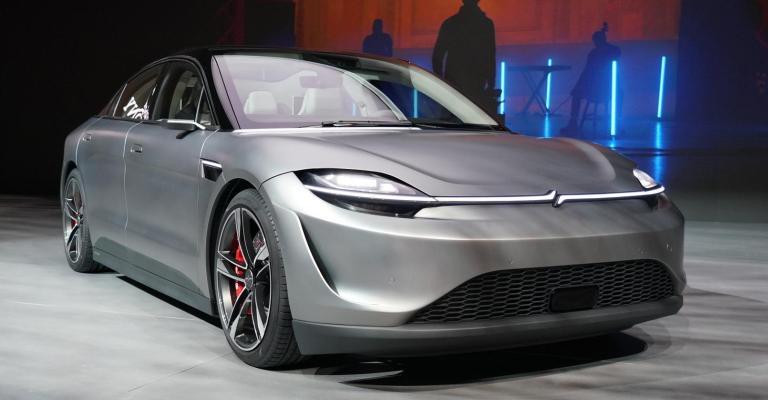 Carro da Sony mostra tecnologias inovadoras