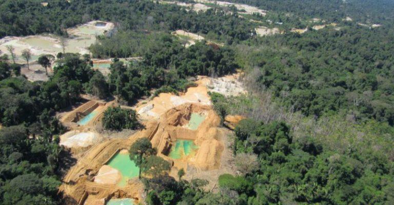 Os perigos da mineração ilegal