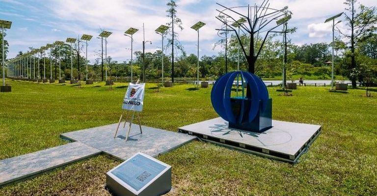 Memorial em São Paulo faz homenagem às vítimas da covid-19