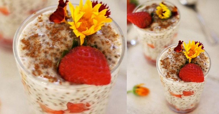 Aprenda como fazer este delicioso Pudim de Chia