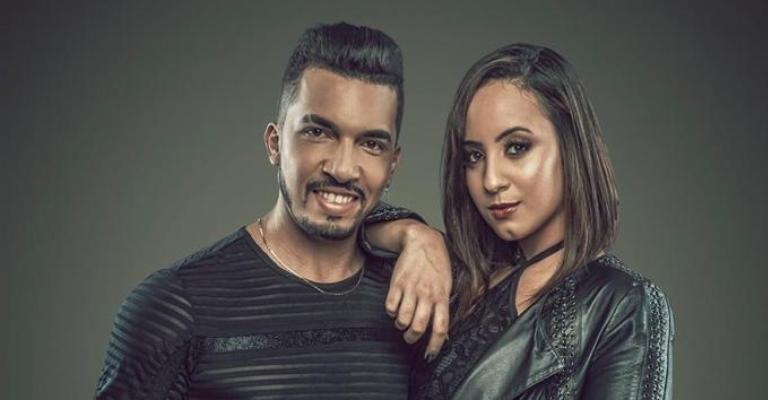 """Léo e Larissa gravam clipe de """"Fantoche"""""""