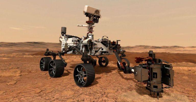 Perseverance pousa com sucesso em Marte