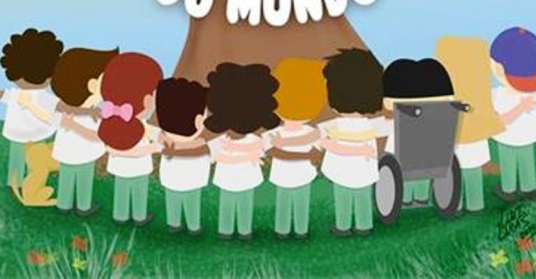 Livro infantil mostra como o ato de abraçar pode transformar o mundo