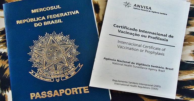 Passaporte de vacinação Mercosul
