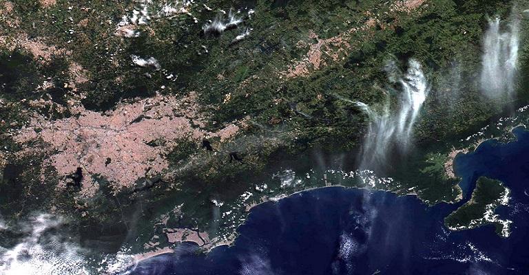 Inpe divulga primeiras imagens feitas pelo satélite Amazonia 1