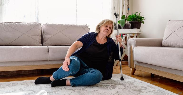 As quedas são responsáveis pela diminuição da qualidade de vida dos idosos