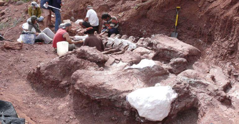 Titanossauro descoberto na Argentina é exemplar mais antigo da espécie