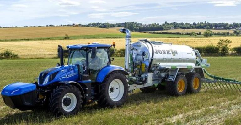 Trator New Holland movido a metano chega ao mercado mundial em 2021